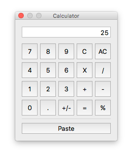 The iCash calculator