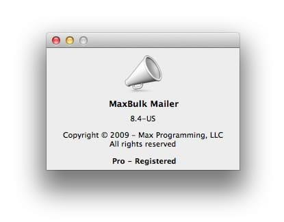 Maxbulk Mailer Pro