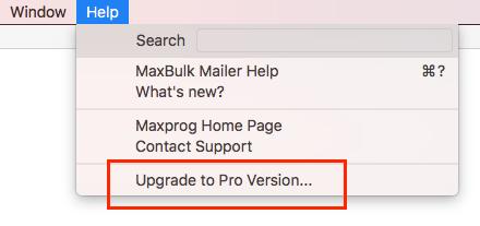 MaxBulk Mailer Pro Update