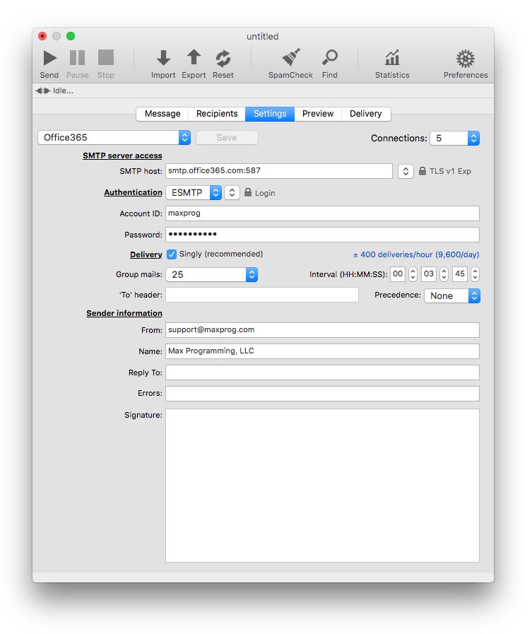 maxprog email verifier serial number