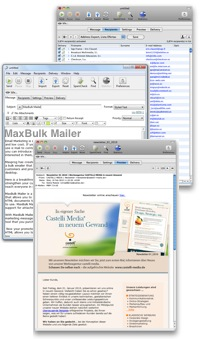 Bulk Email Software for macOS and Windows